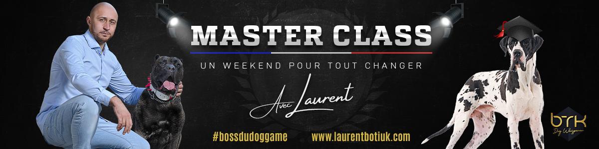 Bannière Master Class Laurent
